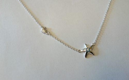 Starfish and Seahorse Pendant